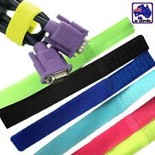 50pcs Reusable Straps Wrap Wire Organizer Cable Holder Tie Rope SCABT0393x50