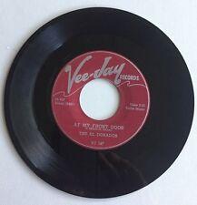 THE ELDORADOS, AT MY FRONT DOOR, VEE-JAY#147,1955