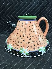 Rare 1997 Mary Engelbreit Michel & Co Me Ink Large Teapot