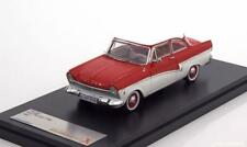 Ford taunus 17m 1957 red white premium x prd387 1/43 rosso red bianca weiss