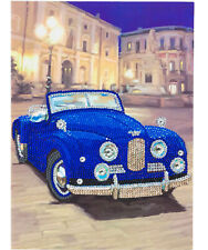 Classic Sports Car Giant Card Diamond Painting Kit Crystal Art Craft Buddy UK
