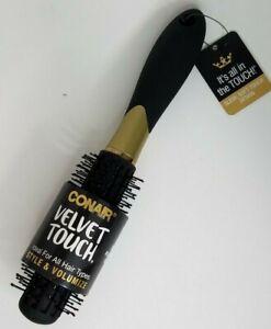 Conair Velvet Touch Volumizing Round Hair Brush #77202Z