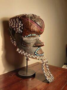 Kuba Helmet from the Congo