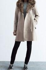 Zip Regular Size Wool Blend Coats & Jackets for Women