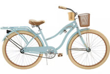 """Huffy 26"""" Womens Nel Lusso Cruiser Bike with Perfect Fit Frame, Blue FAST SHIP!"""