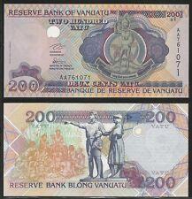 VANUATU - 200 Vatu ND (1995)  UNC  Pick 8a