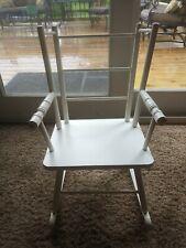 Vintage Children's Hedstrom White Rocking Chair