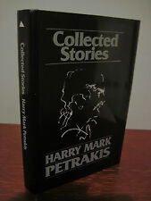 SIGNED 1st Edition COLLECTED STORIES Henry Mark Petrakis FIRST PRINTING Fiction