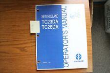 New Holland Tc23da Tc26da Operators Manual