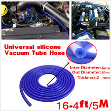 Universal 5M 8mm Blue Silicone Vacuum Tube Hose Silicone Tubing For Car SUV Auto