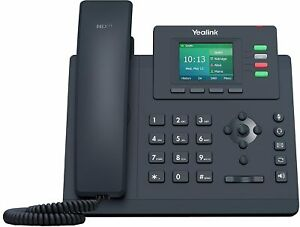 Yealink SIP-T33G Entry Level Dual Port Gigabit PoE Color IP Phone NEW