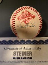 Derek Jeter 1996 World Series Signed Baseball Steiner Certified Autograph Auto