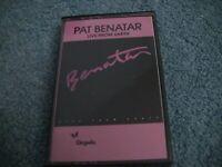 "Vintage Pat Benatar ""Live From Earth"" Tape Cassette"