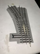 Lionel Fastrack Manual Switch Left Hand O36