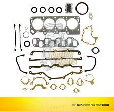 Full Gasket Kit Set Piston & Ring For Dodge Caravan 2.5 L SOHC  #FPR023