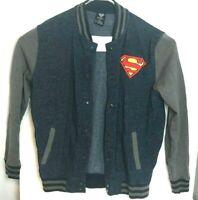 Superman Varsity Jacket Mens Size Large