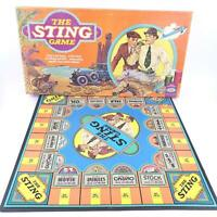 The Sting Board Game 1976 Complete Ideal Movie Game