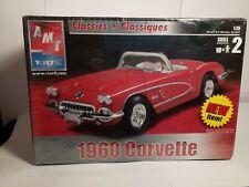 AMT Ertl Corvette 1960- Plastic Model Kit - 125 Scale - unopened