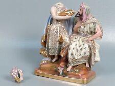 Antique 19 C French Paris Porcelain Figurine Arab Subject Matter Jacob Petit PC