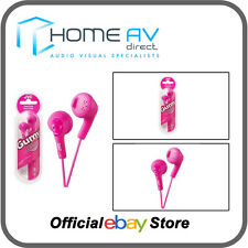 JVC HA-F160 gomoso In-Ear Auriculares iPod/iPhone compatible en Melocotón Rosa