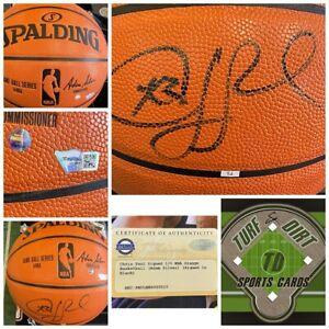 CHRIS PAUL Phoenix Suns Auto Official NBA Basketball Fanatics & Steiner Auth.