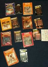 7 X BOXED ATARI 2600 7800 GAMES BUNDLE ! TESTED !