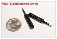 1pc Black Gorilla Best 900M-T-2C bevel Solder Iron tip Hakko Rework Station 900M