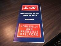 DECEMBER 1965 L&N LOUISVILLE AND NASHVILLE RAILROAD