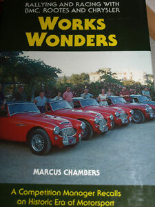 LONDON TO SYDNEY BMC AUSTIN HEALEY 3000 SPRITE ROOTES PAT MOSS STUART TURNER