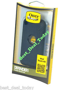 Otterbox Defender Case For 8GB 32GB 64GB Ipod Touch 4 4G 4th Gen Black Itouch