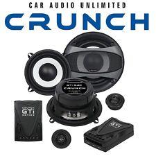 CRUNCH Lautsprecher für BMW 3er E36 Cabrio Fußraum vorne13cm 2-Wege Kompo System