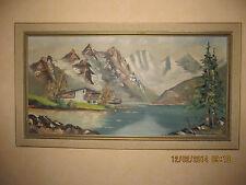 Altes Gemälde  Größe ca.90 x 45 cm mit Rahmen