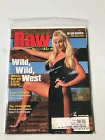 WWE RAW Magazine Sable Cover