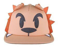 Neff Men's Orange Lion Leo Snapback Baseball Hat Cap w Tail NWT