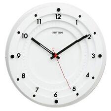 Orologi da parete in vetro bianco