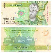 Turkmenistan 1 Manat 2014 P-29b Banknotes UNC