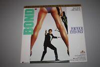 JAMES BOND 007 FOR YOUR EYES ONLY LASERDISC ROGER MOORE
