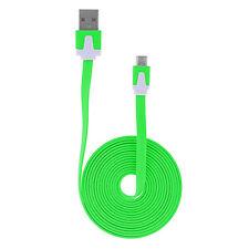 2m Micro USB Kabel Flachband High Speed Ladekabel Datenkabel Samsung Sony GN