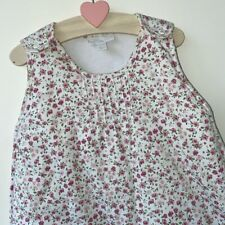 Little White Company 6-18 Months 2.5 Tog Winter Baby Girls Floral Sleeping Bag