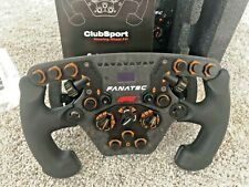 Fanatec F1 Clubsport Steering Wheel Limited Edition, PC & PS4
