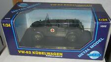 De GONIO militaire-VW - 82 Kubelwagen ambulance 1-24 - En parfait état, dans sa ...