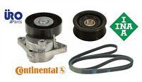 Mercedes Engine Belt Tensioner Assembly With Idler Pulley And Serpentine Belt