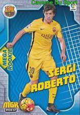 108 SERGI ROBERTO ESPANA FC.BARCELONA MEGA ROOKIES CARD MGK LIGA 2017 PANINI