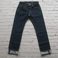 New Sample Levis 501 Raw Selvedge Denim Jeans Size 30