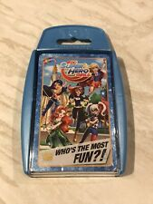 Top Trumps DC Superhero Girls Card Game 2016 New And Sealed
