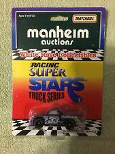 1996 Matchbox White Rose HARRY GANT #33 Manheim Craftsman Truck 1/64 Nascar