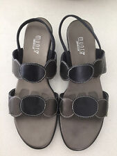 MUNRO American Eclipse Leather Shoes SIze 8.5 M Black / Bronze