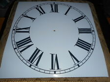 "Grand papier Horloge Cadran - 12"" M/T-roman-Gloss White-Face/Clock parts"