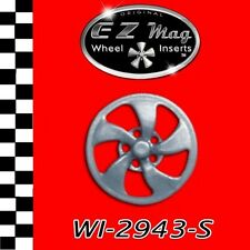 WI-2943-S Elliptical-Style Wheel EZ Mag Wheel Inserts Fits H&R Chassis Slot Cars