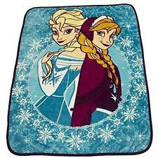 Disney Frozen Anna Elsa Brand New Adorable Classic Designed Micro Plush Blanket